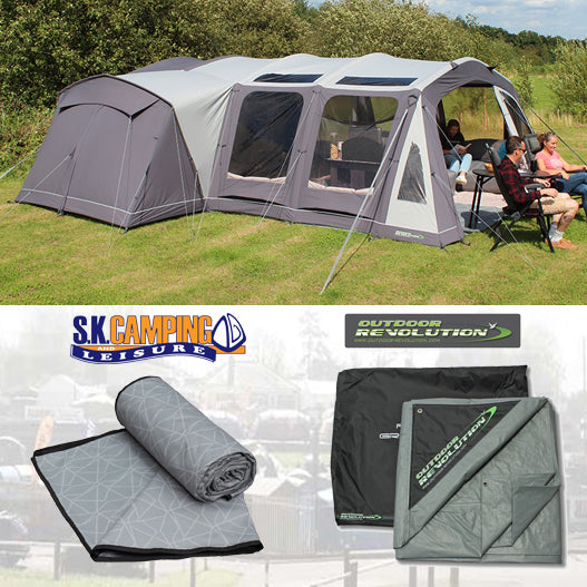 Outdoor Revolution Kalahari 7.0 Polycotton Air Package Deal 2021