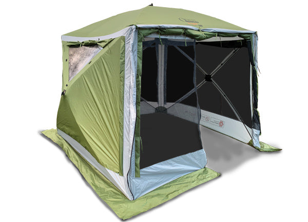Quest Elite Instant Spring Up Screen House 4 Pro