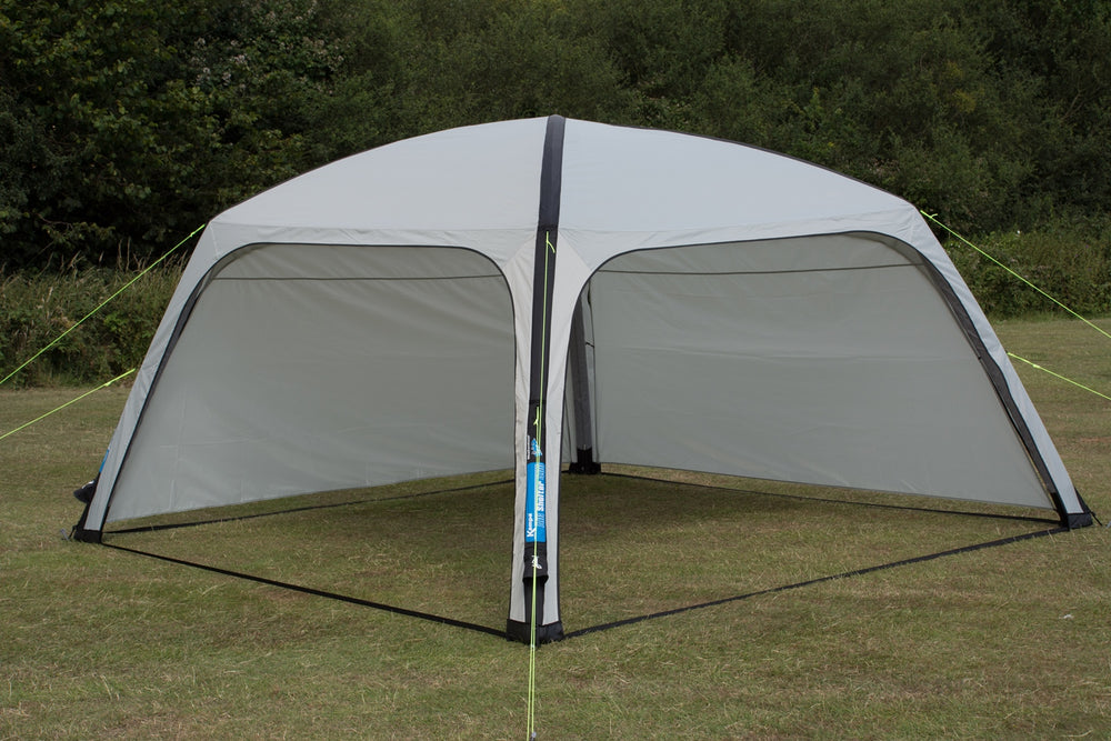 Kampa Air Shelter 400 with Panels Attached