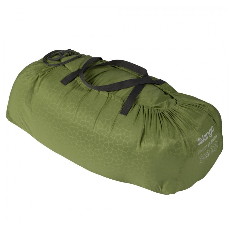 Vango Comfort Mat Double 7.5cm Herbal Green