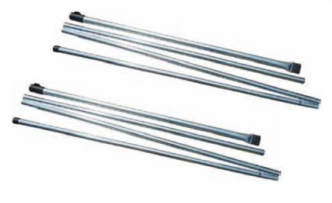 Sunncamp Rear Upright Pole Set