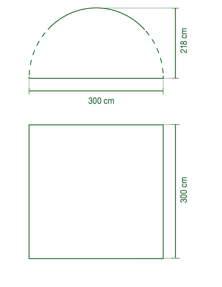 Coleman Event Shelter M Floorplan