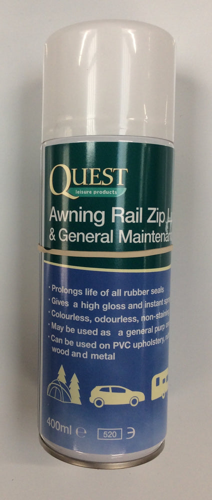 Awning rail zip lubricant 400ml