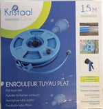 Kristaal clear 15mt flat hose