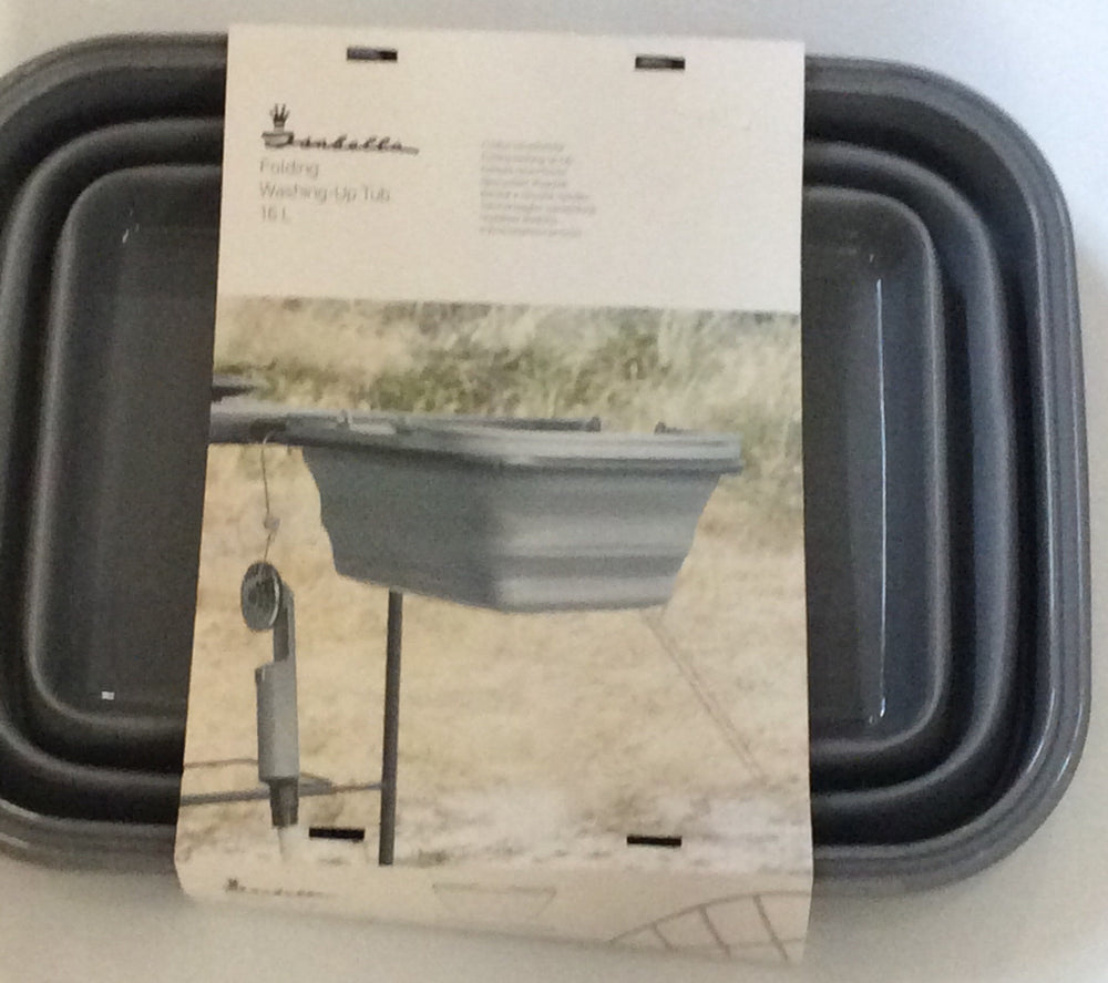 Isabella folding washing up bowl 16 litre