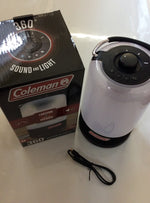 Coleman 360 sound and light