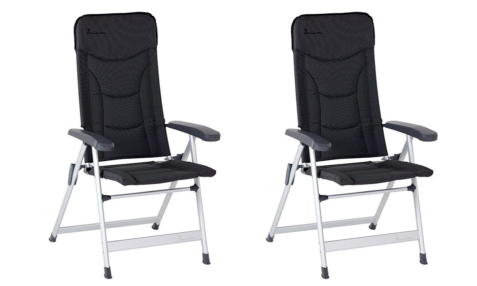 Isabella Loke Tall Chair Dark Grey x2