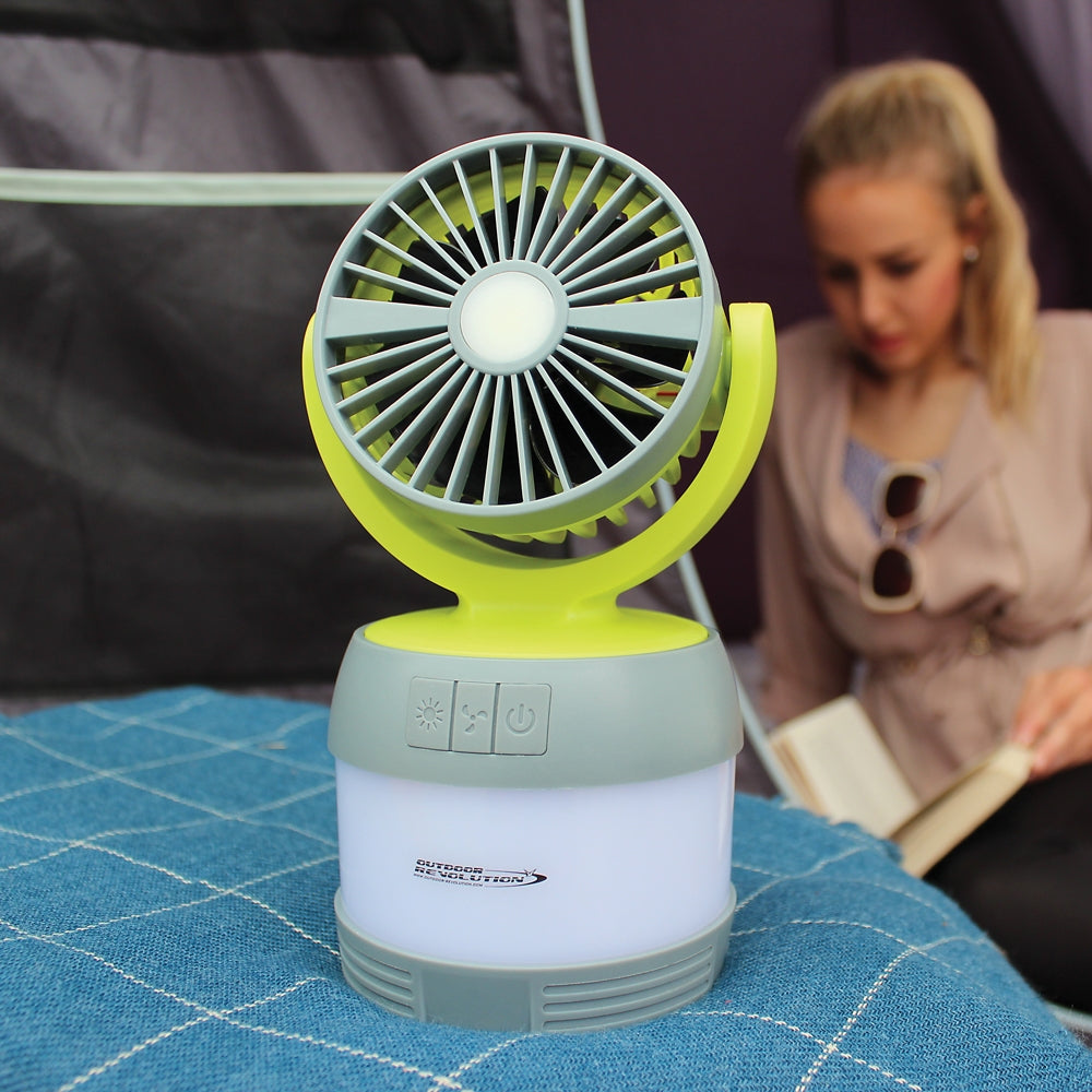 Outdoor Revolution 3 in 1 Lumi Fan