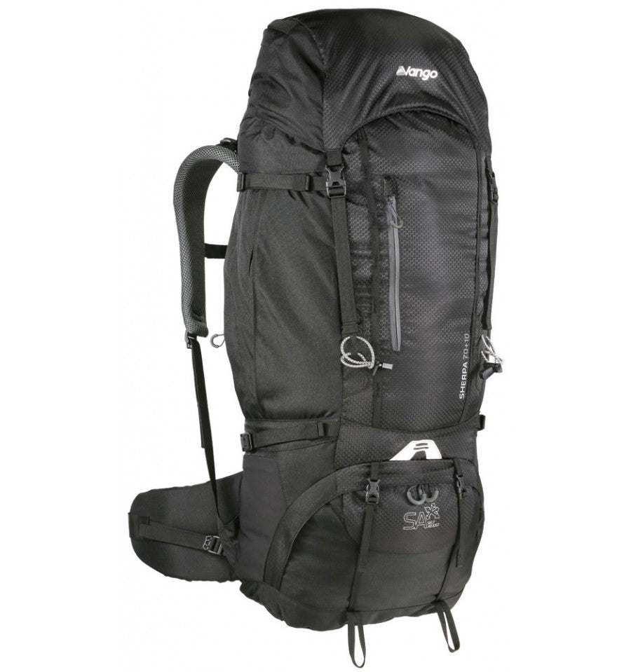 Vango Sherpa 70:80 Rucksack Shadow Black