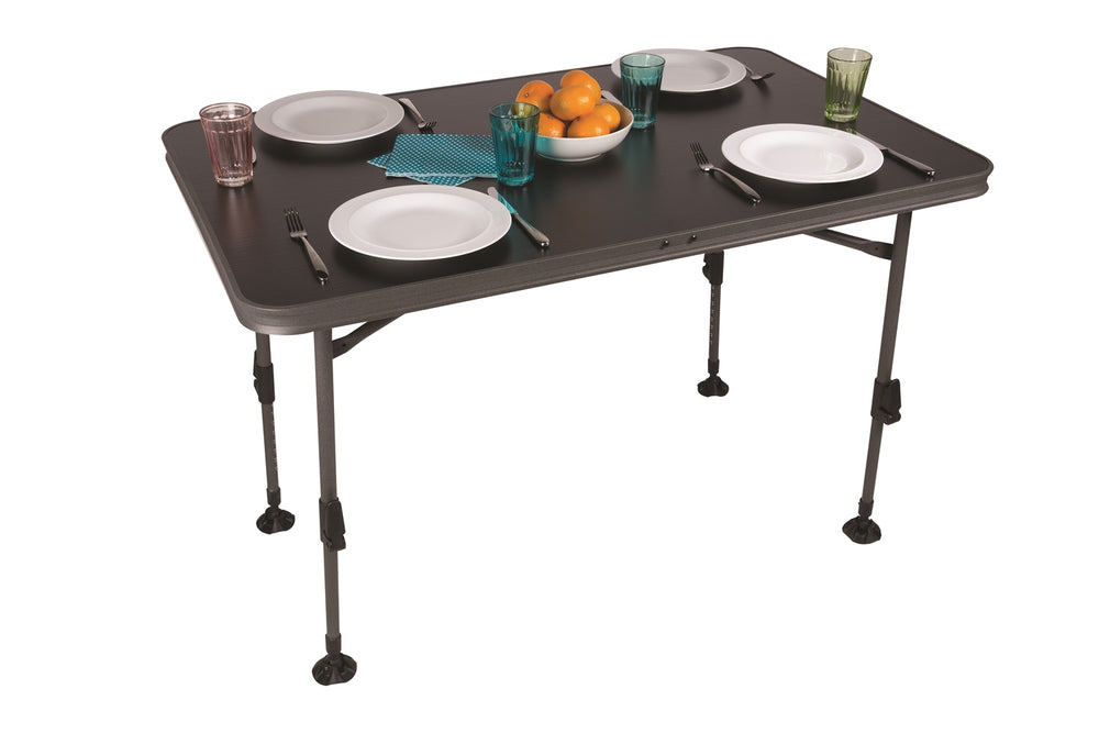 Kampa Element Waterproof Table Large - Charcoal