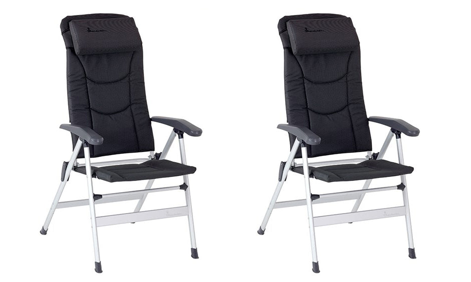 Isabella Thor Chair Dark Grey x2