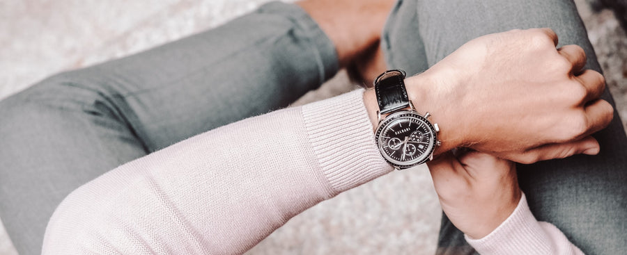 Calagari Watches for men. Complete your outfit and enhance your style with Calgari Watches for every occasion. Check our Corragio and Consicio watches.