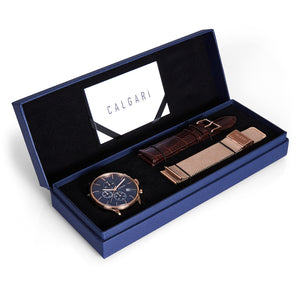 Calgari Conscio Gift Box Rose Gold