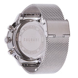Conscio Watch Strap Silver Mesh - back