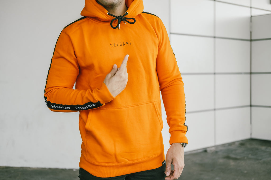 Calgari Hoodie Orange - Artist of Life Edition