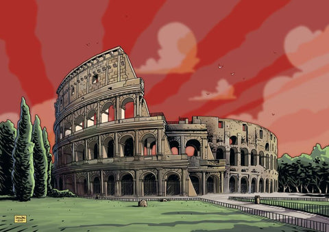 Colosseum - Red