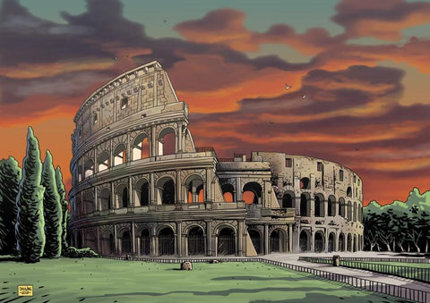 Colosseum - Sunset