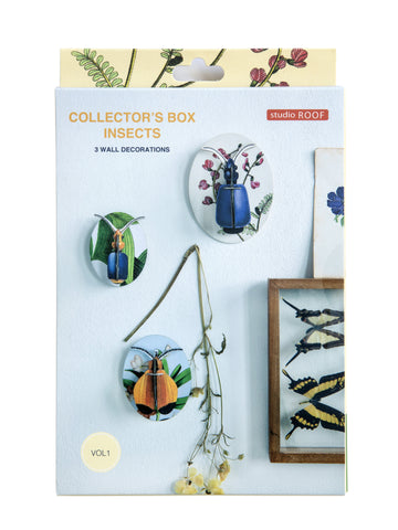 Wall Decorations - Collectors Box Insects, Dybdahl - vol 1