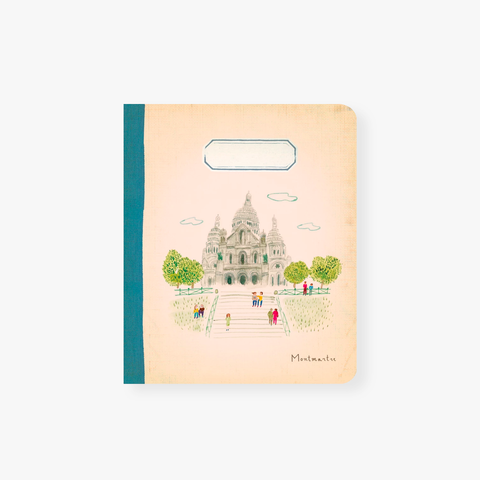 L´Aprés Midi – Mini Travel Notebook Paris Montmarte