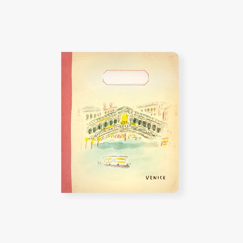 L´Aprés Midi – Mini Travel Notebook - Venice Rialto Bridge