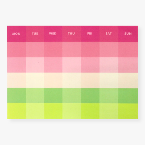 Paperways – Deskpad Monthly La Vie en Rose