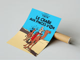 Poster Album Cover -  Le Crabe aux Pinces d'or