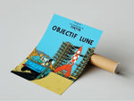 Poster Album Cover -  Objectif Lune