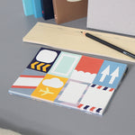Sticky Notes Pil Flygplan Paperways Stationery Sverige