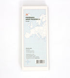 Memopad Kartor Europa Paperways Stationery Sverige