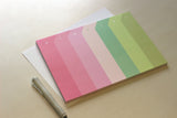 Deskpad Weekly La Vie en Rose Paperways Stationery Sverige