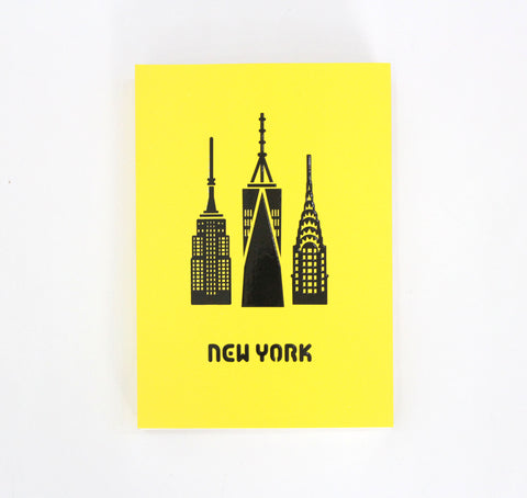 Skrivbok Blanka Sidor New York Paperways Stationery Sverige