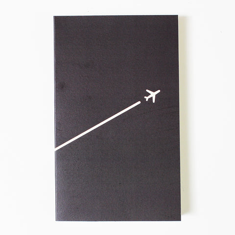 Idea Blank Skrivbok Flygplan Paperways Stationery Sverige