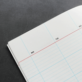 Notebook Medium Månadsöversikt Paperways Stationery Sverige
