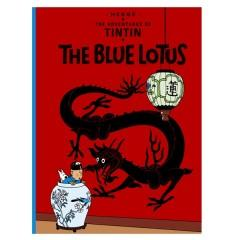 Hergé Album -  The Blue Lotus