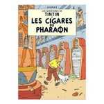 Poster Album Cover - Les Cigares du Pharaon