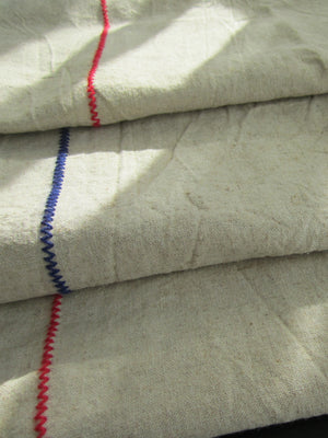 Raw Linen Table Runner