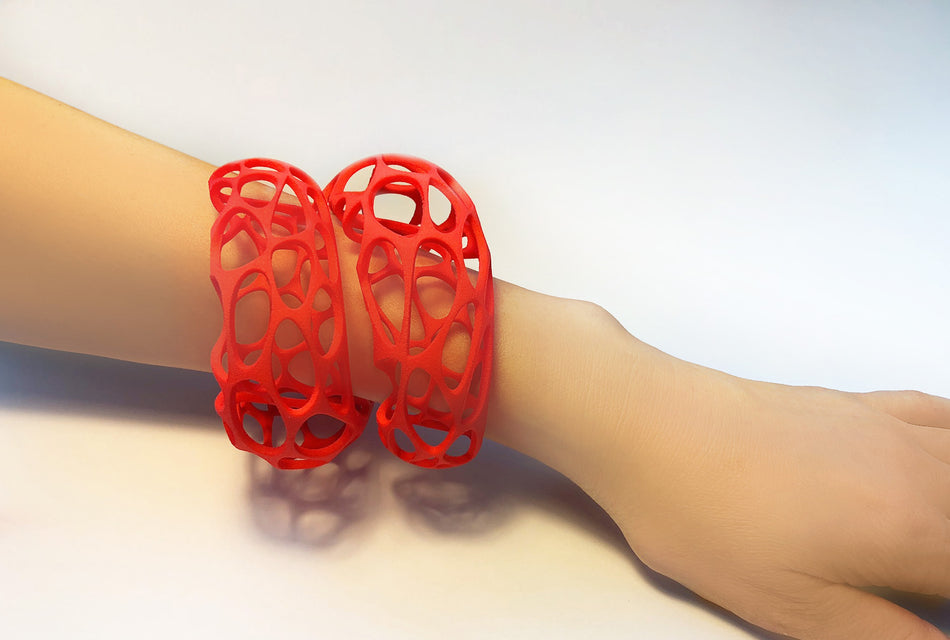 Ultra light material  3D Printed Jewelry
