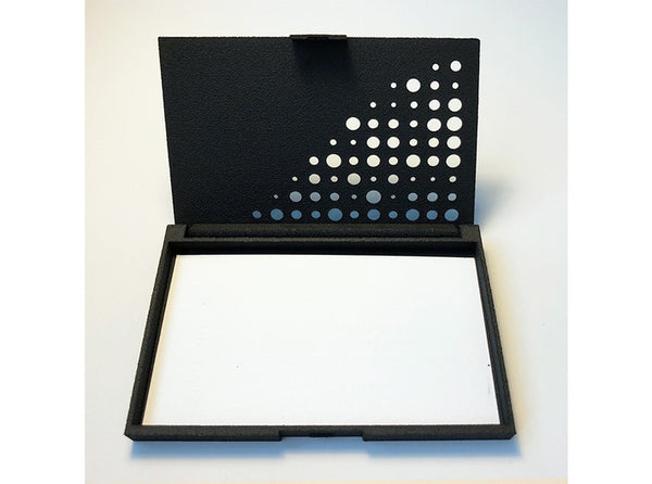 Business card case/Polka Dot 3d printed