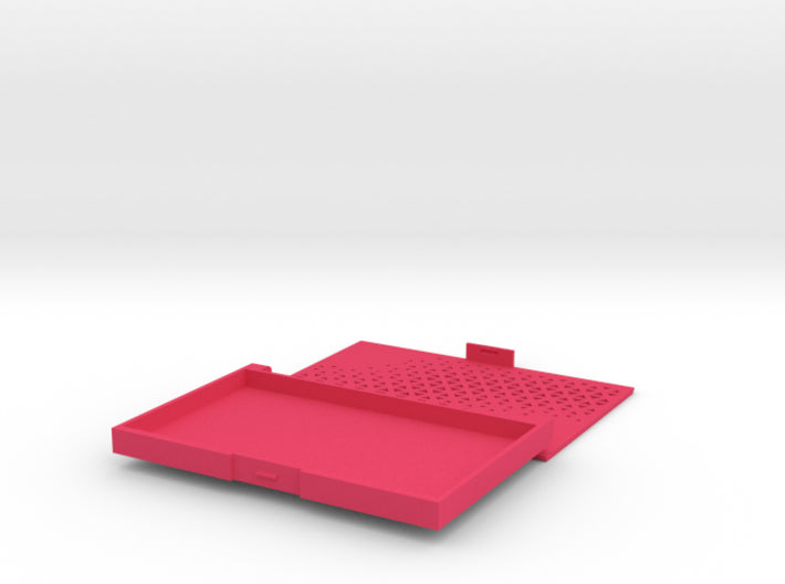 Business card case/Random Triangles 3d printed