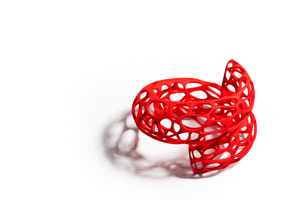 Voronoi Spiral Bangle