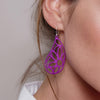 Flora Puffed Earrings