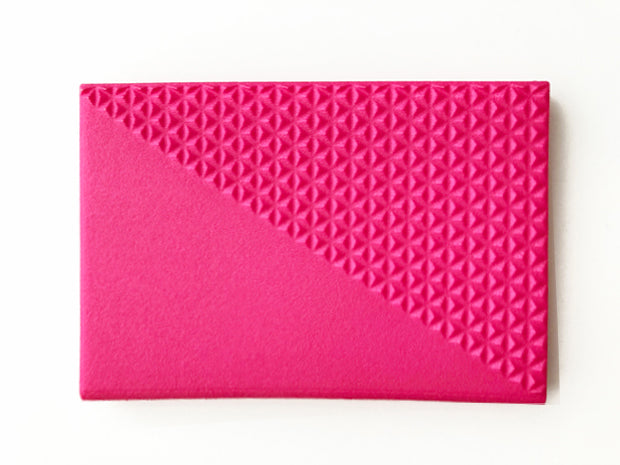 Business Card Case/Diagonal Triangle