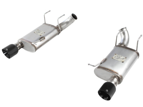 aFe MACHForce XP Exhaust 11-14 Ford Mustang GT V8-5.0L 3in. Stainless Steel Axle-Back w/Black Tips