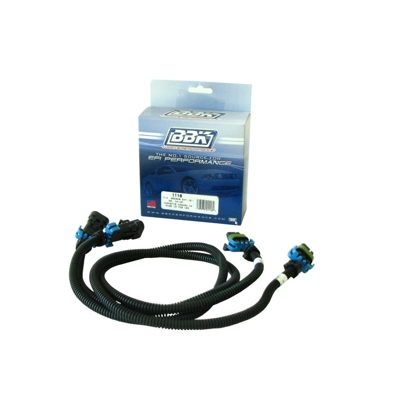 BBK 08-15 GM Corvette Camaro O2 Sensor Wire Harness Extensions 36 (pair)