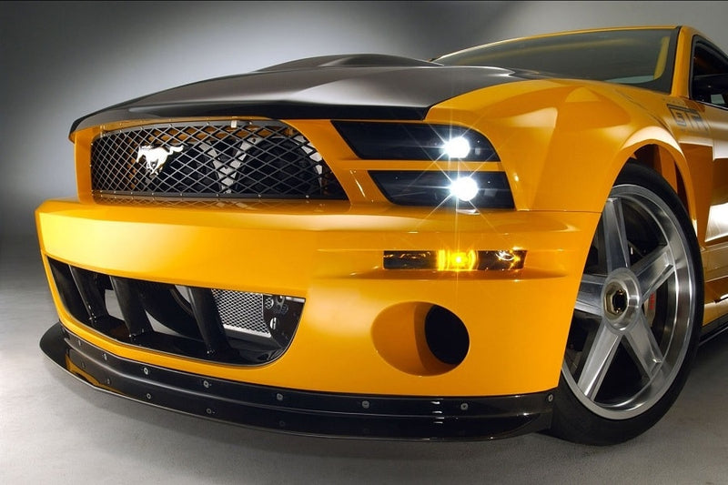 3dCarbon Headlight Splitter Ford Mustang 2005-2009 - ATACK