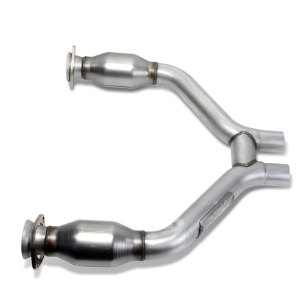 BBK 2015-16 Mustang V6 Short Mid H Pipe With Converters (To Be Used With 1642 Series Headers)