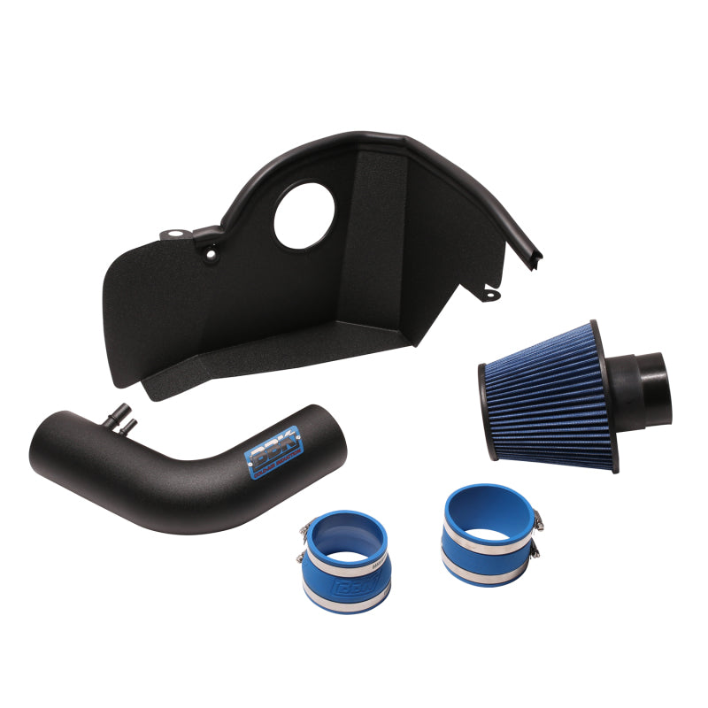 BBK 2015-16 Mustang 3.7L Cold Air Induction System (Blackout)