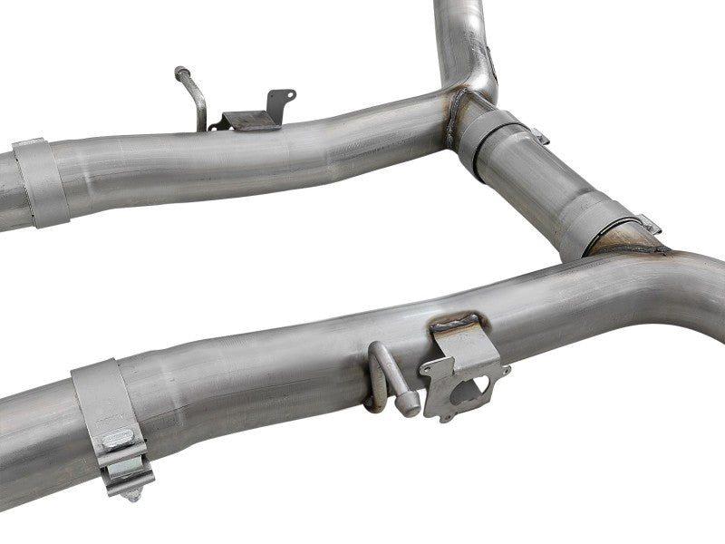 aFe MACHForce XP 304SS Exhaust Cat-Back 15-19 Dodge Charger/Hellcat/Demon SRT-8 V8-6.2L (sc)
