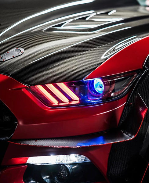 Phares (pré construits) Multicolore Bluetooth Ford Mustang 2015-2017