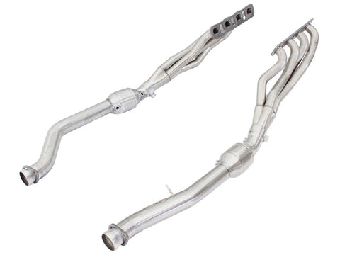 aFe Twisted Steel Headers w/ Cats 12-14 Jeep Grand Cherokee SRT/SRT-8 6.4L V8